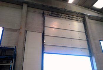 Doghe standard RAL blu, Interporto sito Grugliasco (TO) 9