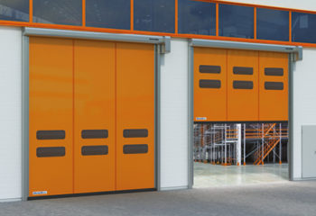 Porte industriali in PVC porte rappide in pvc