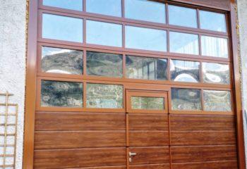 doppia doga - quercia - liscio con portina inserita e pannello panoramico